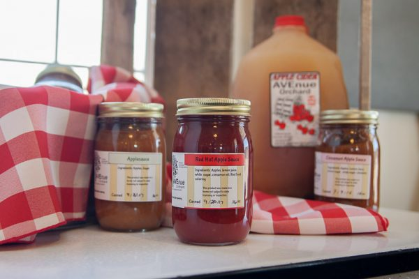 Avenue Orchard Red Hot Apple Sauce