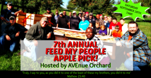 Feed My People Apple Pick @ AVEnue Orchard