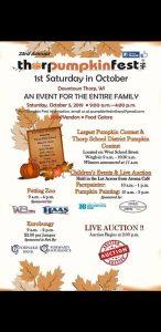Thorp Pumpkin Fest @ Down Town Thorp